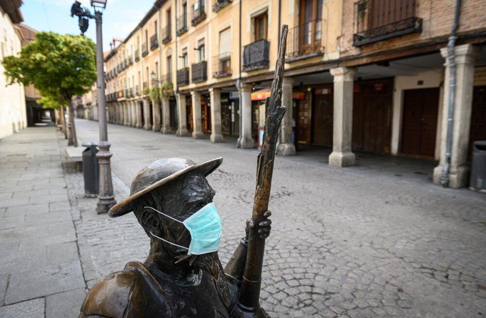 Hispaanias langes päevane koroonasurmade arv neljandat päeva ja madalaimale tasemele pärast 24. märtsi