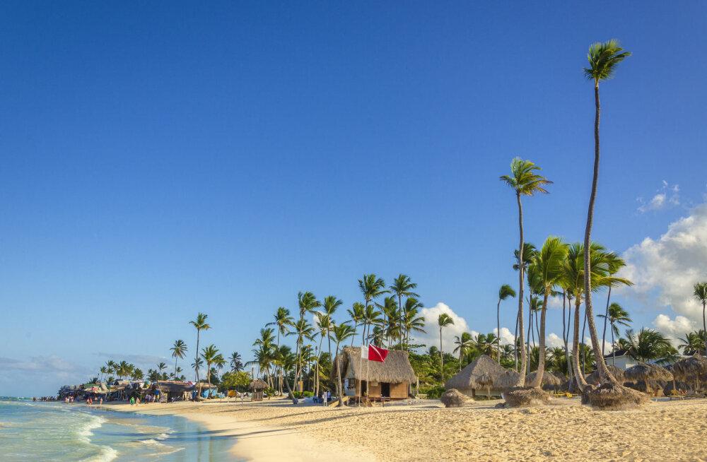 Kuuba - palmid ja rand