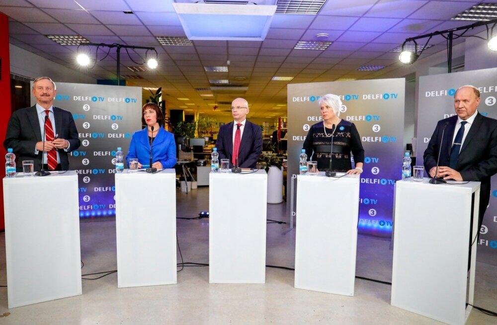 Making off - suur presidendidebatt TV3 ja Delfi