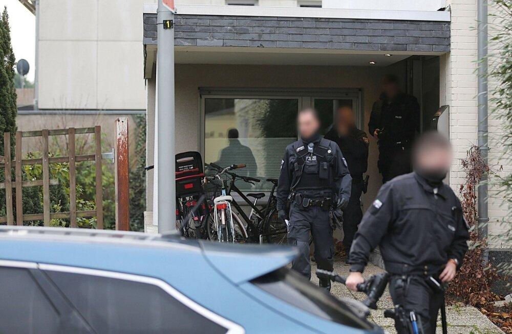 Põhja-Saksamaal vahistati kolm terrorirünnaku kavandamises süüdistatavat iraaklast