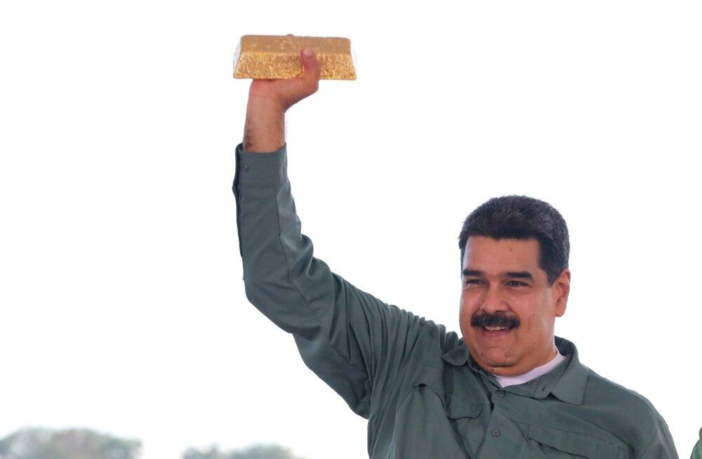 Bloomberg: Madurol ei lastud Inglismaa keskpangast välja võtta 1,2 miljardi dollari eest kulda