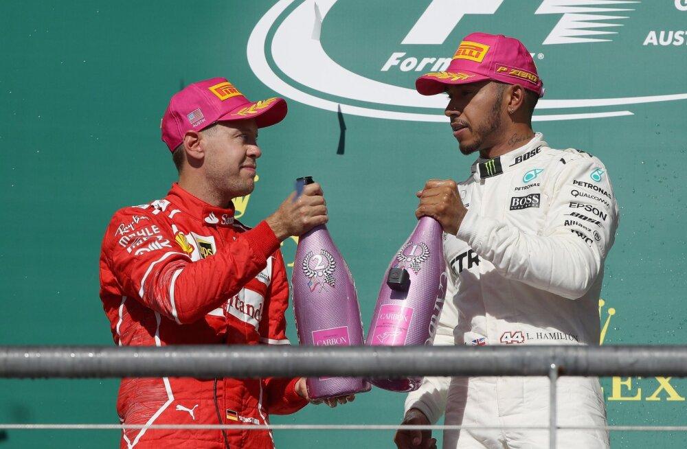 Eksmaailmameister: Vettel äratas uinuva Hamiltoni üles