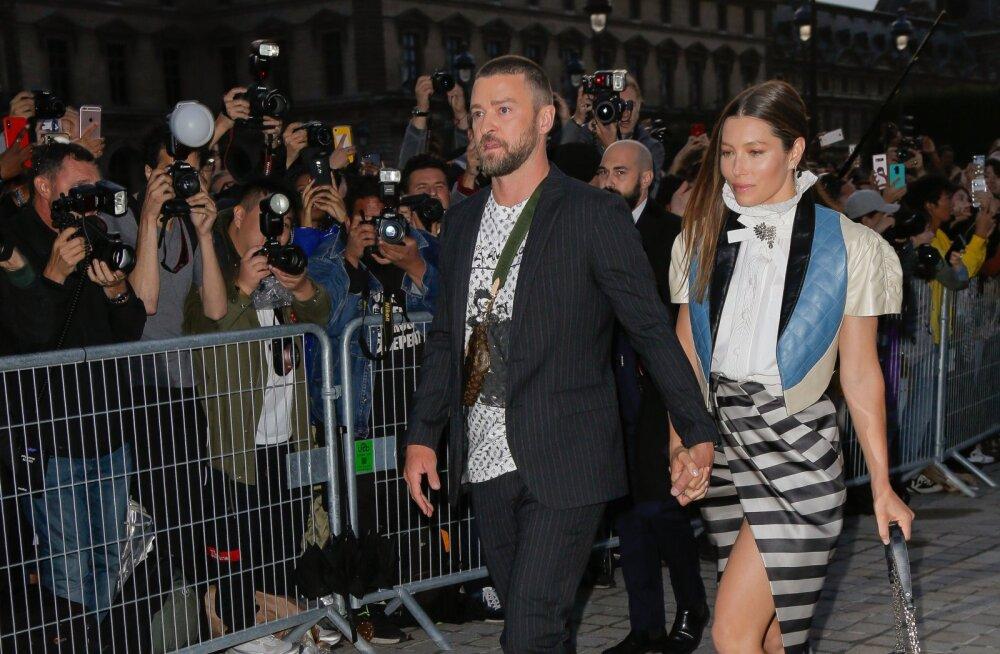 VIDEO   Justin Timberlake'i ründas hullunud vembutaja: ma teen seda nalja pärast