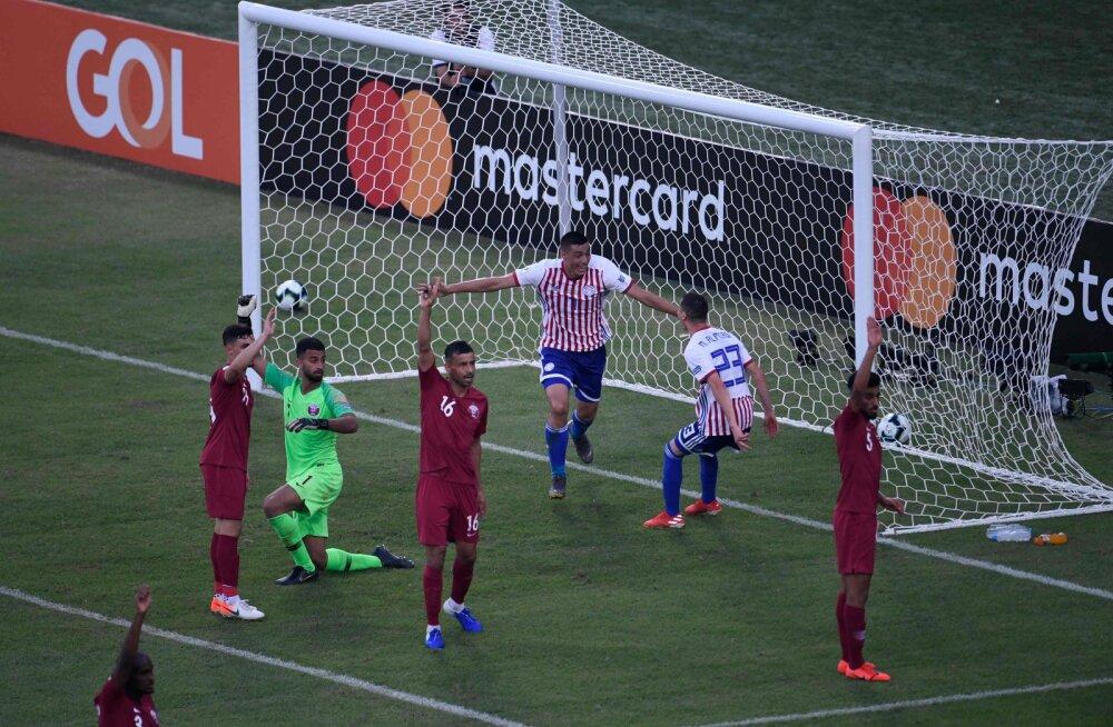 Katari ja Paraguay mäng