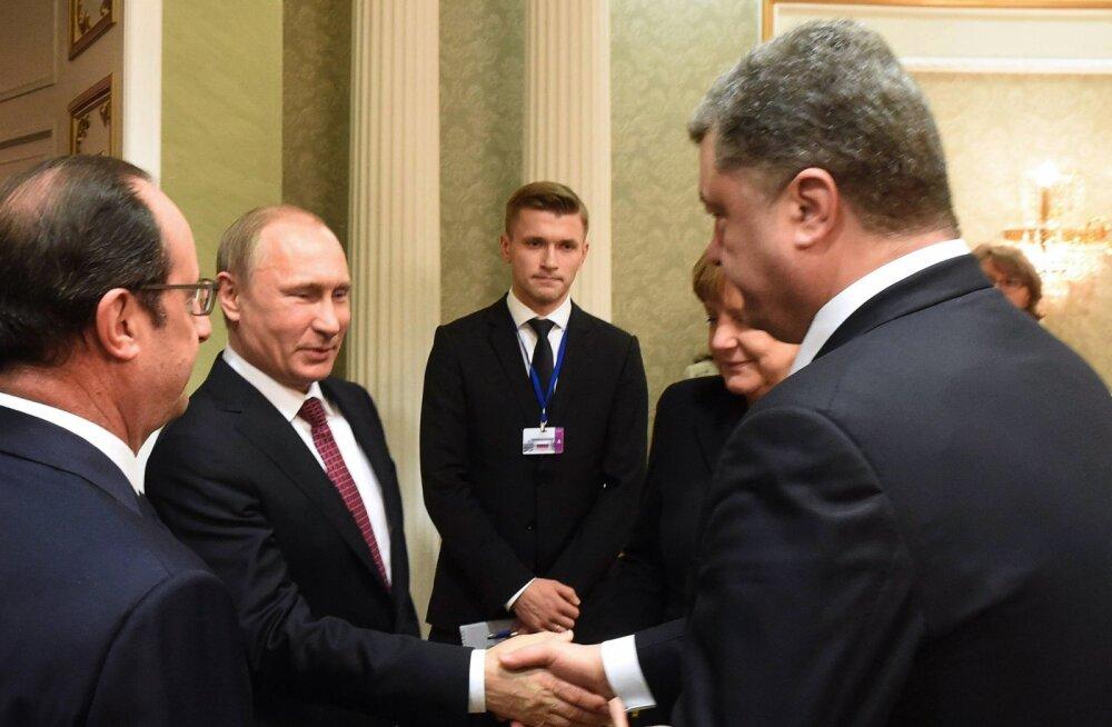 Ukraina parlamendiliige avaldas salvestuse väidetavast Putini ja Porošenko vestlusest, mis kulges väga soojas õhkkonnas