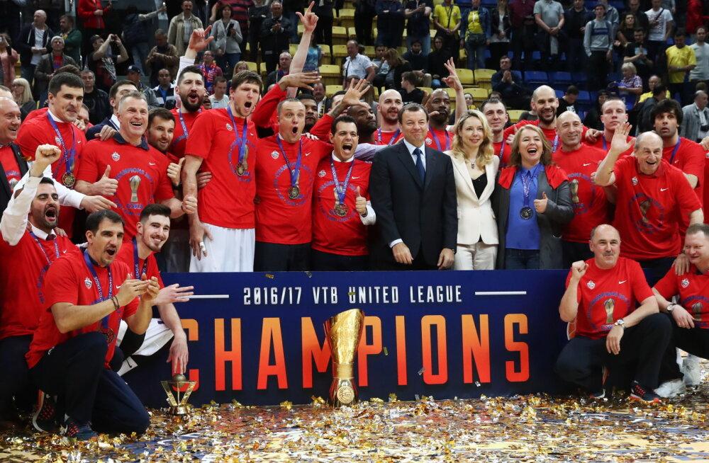 VIDEO | CSKA tuli kuuendat korda järjest VTB Ühisliiga meistriks