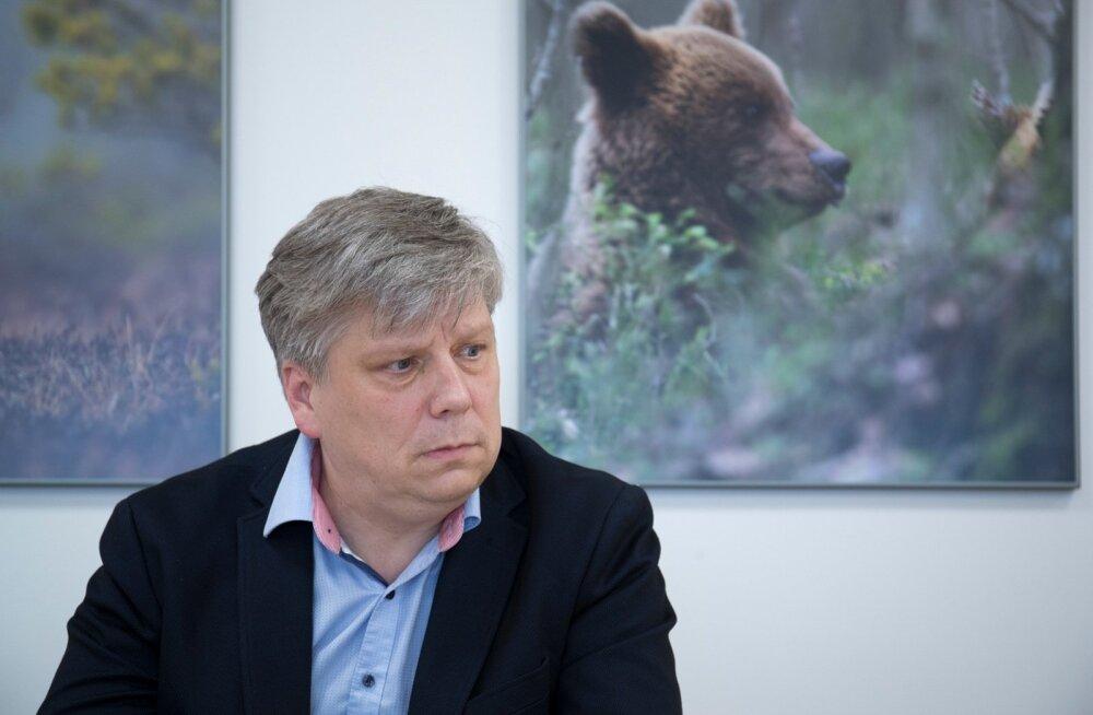 Keskkonnaminister Siim Valmar Kiisler ja keskkonnaministeeriumi asekantsler Ado Lõhmus