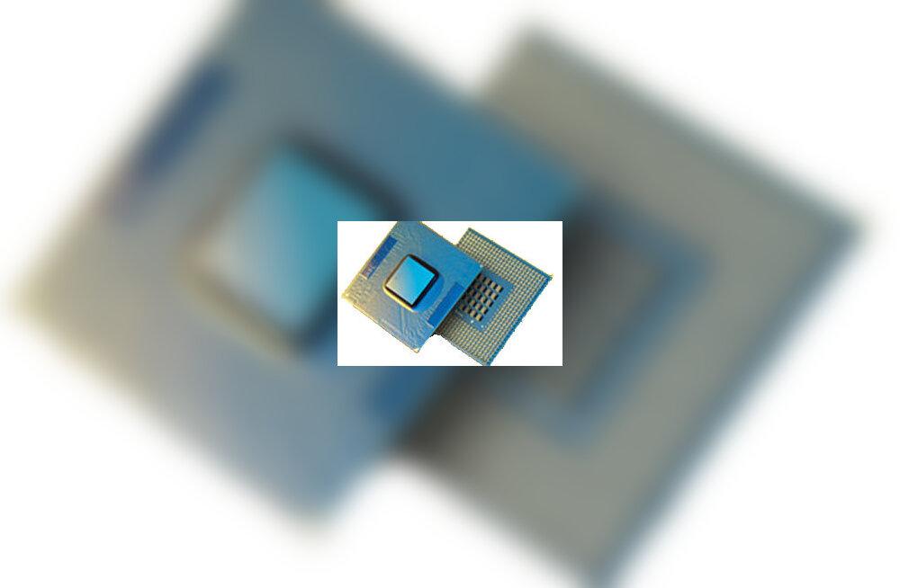 Intel viib neljatuumalised protsessorid suurserveritesse
