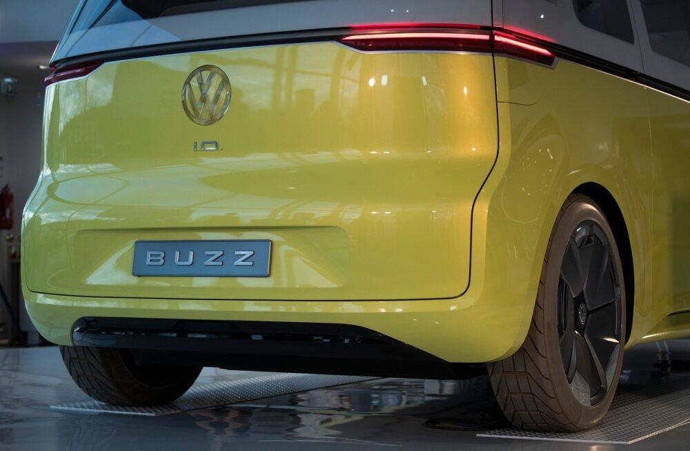Volkswagen ID.Buzz elektrilise hipibuss. Volkswageni uus esindus Ülemistel
