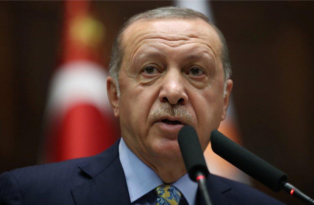 Erdoğani sõnul on mõned kohad Saudi Araabia konsulaadis Istanbulis üle värvitud