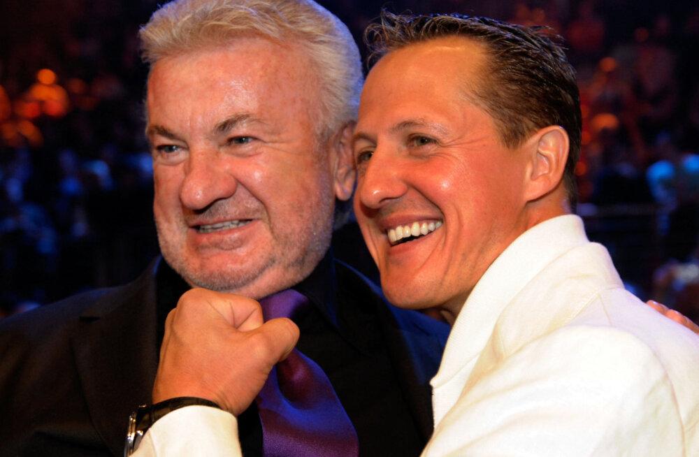 Schumacheri endine mänedžer: andsin ühel hetkel Michaeli osas alla