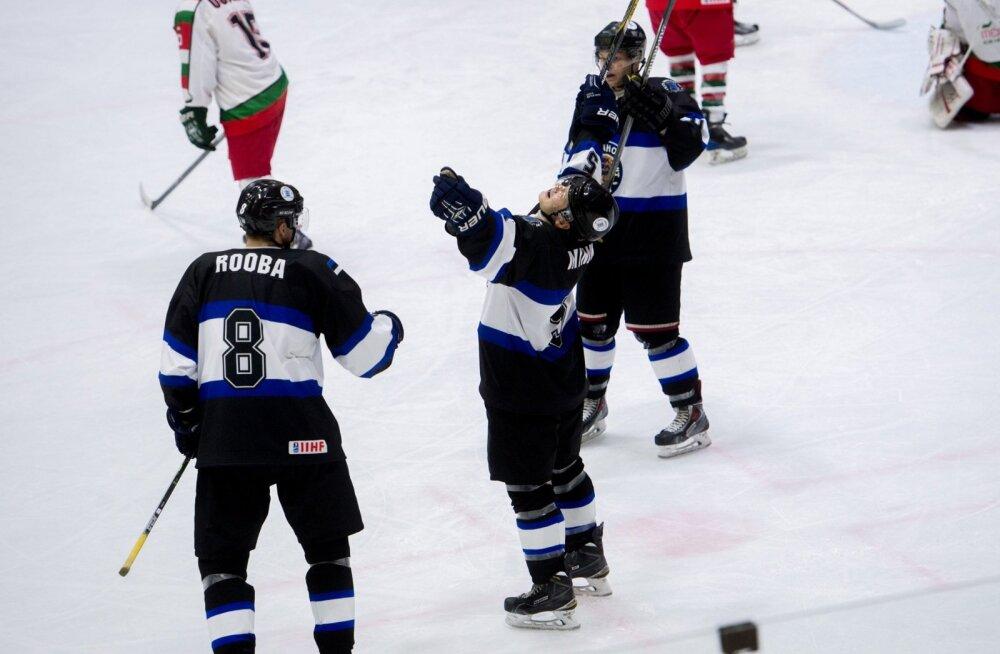 Jäähoki Eesti vs Mehhiko