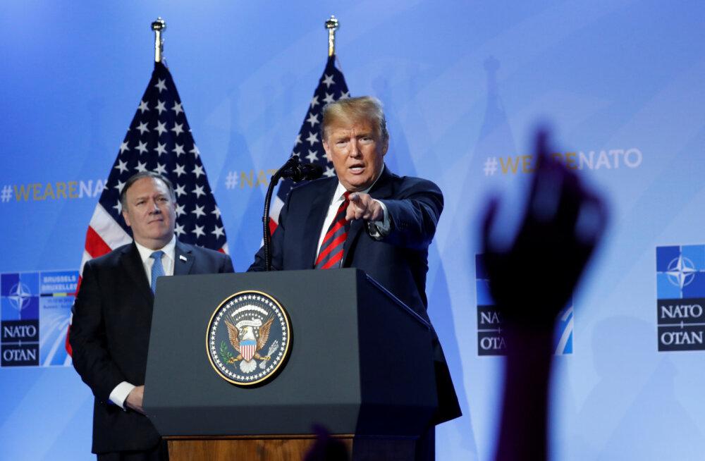 OTSEBLOGI | Kuulujutud Trumpi lahkumisähvardusest osutusid ennatlikuks, selle asemel rääkis USA liider taas NATO suurepärastest suhetest