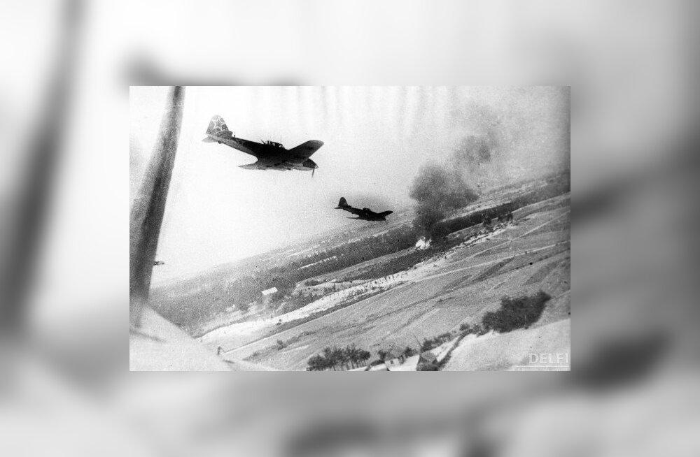 Nõukogude hävitajad Teises maailmasõjas. Foto: Mihhail Kuhtarev, RIA Novosti
