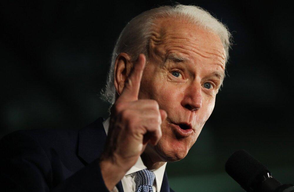 Joe Biden lõi Sandersit partei eelvalimistel Lõuna-Carolinas