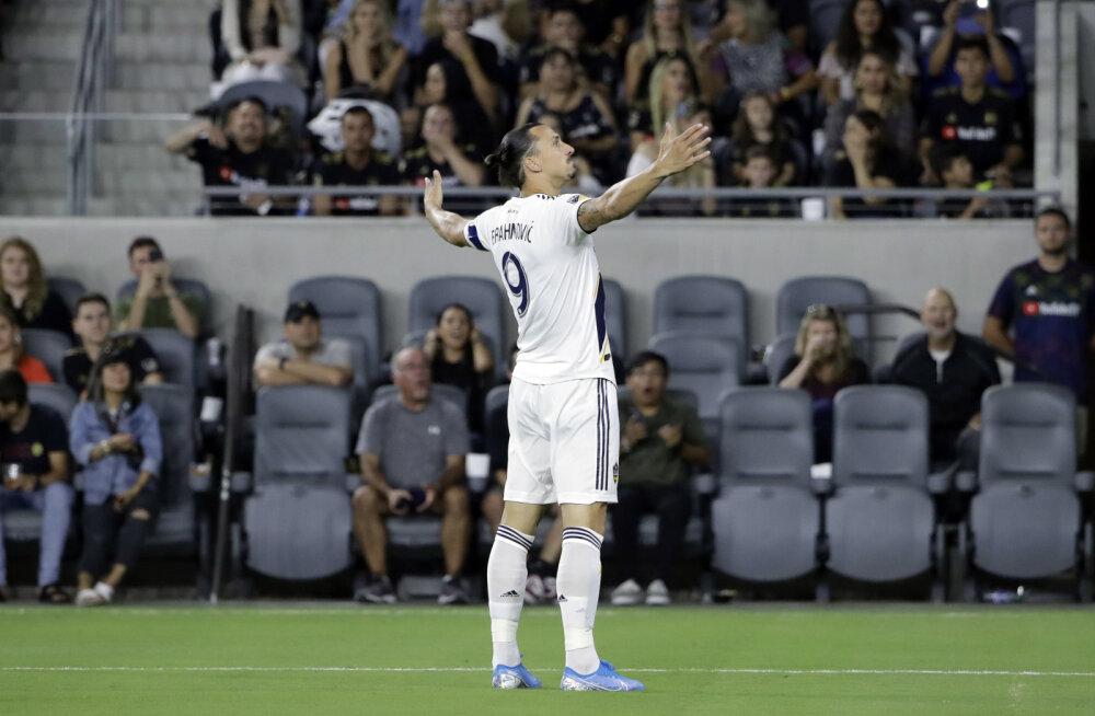 Zlatan Ibrahimovic saab vägeva tunnustuse osaliseks
