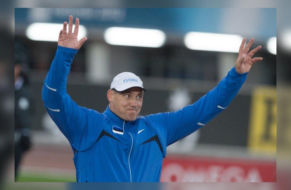 Gerd Kanter võitis EMi hõbeda, kergejõustik