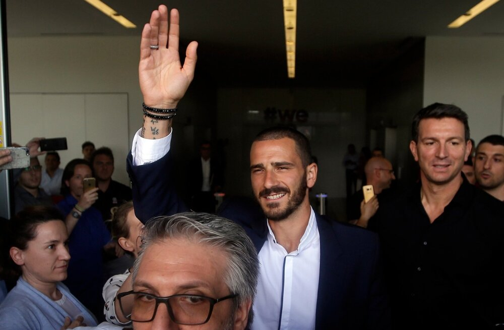 Italy Soccer Transfers Bonucci