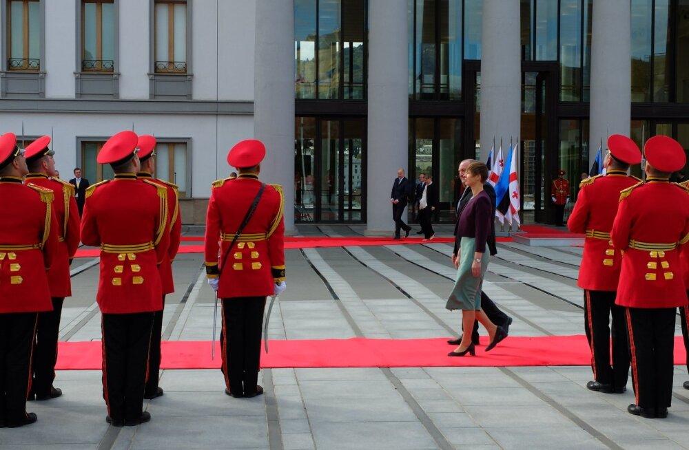 Президент Кальюлайд откроет в Грузии построенную Олегом Осиновским площадку для гольфа