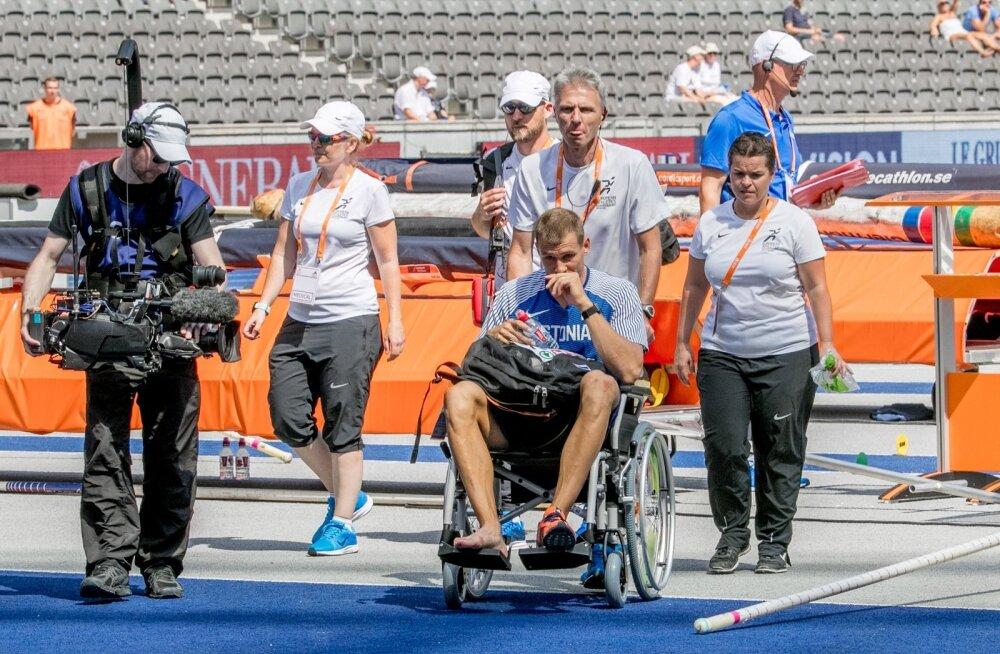 Mullu EM-i areenilt ratastoolis lahkunud Maicel Uibo on valmis taas lahingusse sööstma.