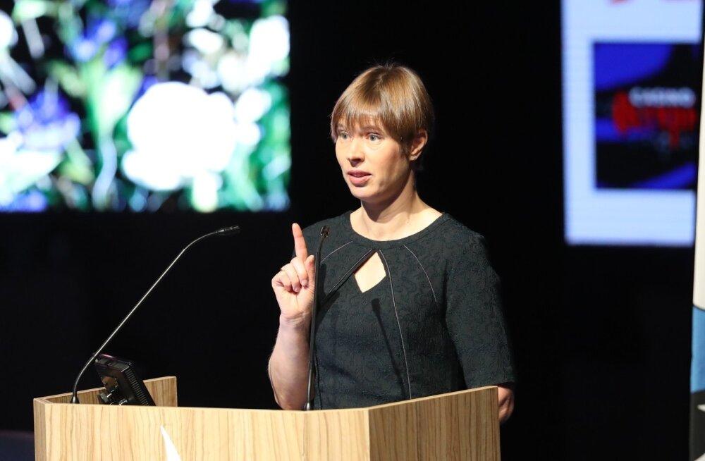 President Kersti Kaljulaid soovitab Eesti spordil eeskuju võtta Islandilt ja muuta spordiväljakud kõigile avatuks