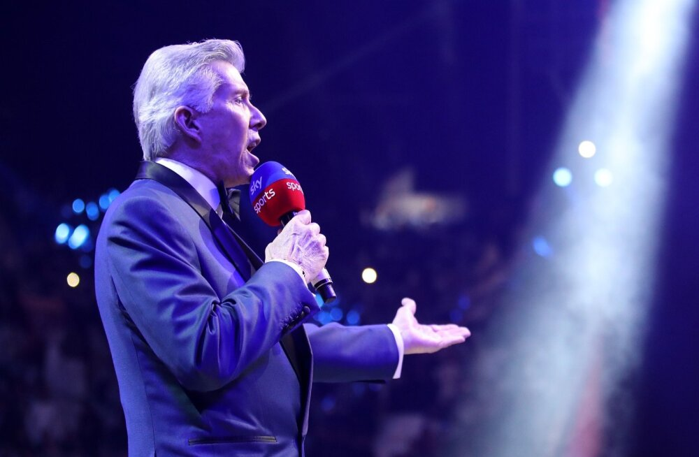 "Michael Buffer ja tema kuulus ""Let's get ready to rumble!"""
