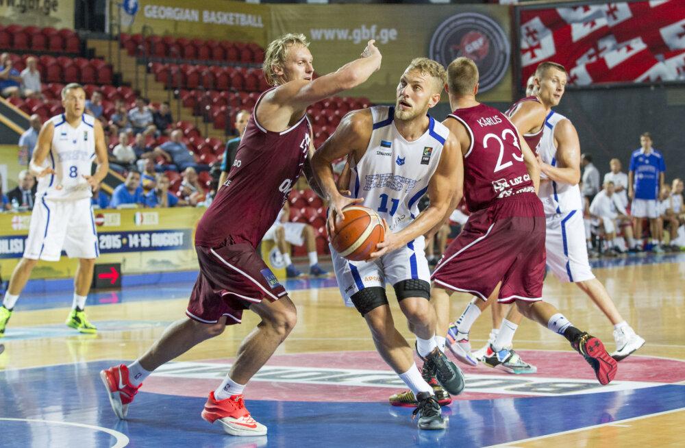Läti korvpallikoondis avalikustas oma koosseisu Balti keti karikaturniiriks