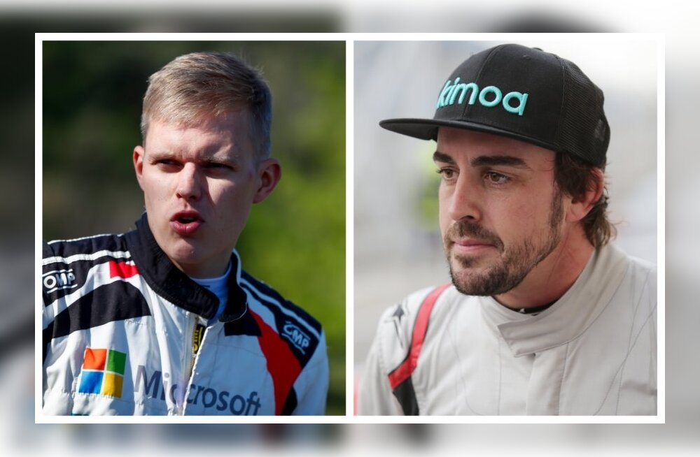 Fernando Alonso istub Kataloonia rallil Toyota WRC auto rooli?