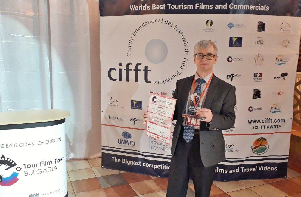 Palju õnne! Visit Estonia kampaania sai olulise auhinna Bulgaaria rahvusvahelisel turismifilmide festivalil