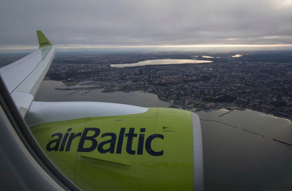 В эти выходные авиакомпания airBaltic откроет из Таллинна 3 новых прямых линии