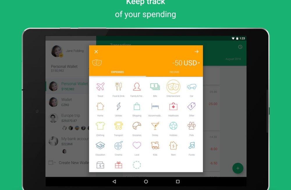 Kas julged vaadata: nutitelefon näitab, kuhu sinu raha kaob