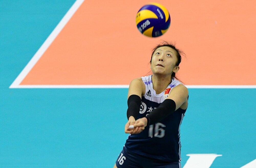 Hiina võrkpallur Ding Xia