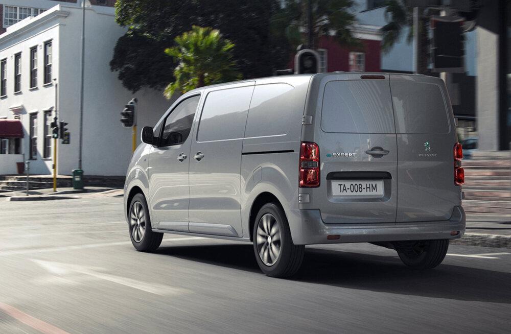 Peugeot e-Expert on esimene tõsiseltvõetav elektriauto tarbesõidukite segmendis