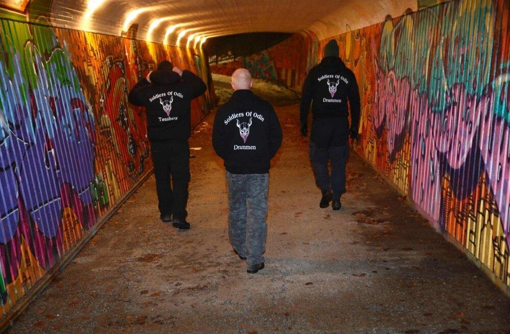 Baieri julgeolekuteenistus võttis Soldiers of Odini paremäärmuslastena jälgimise alla