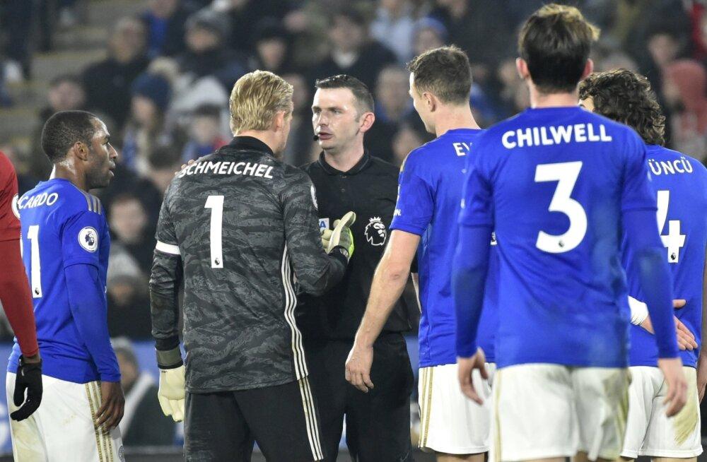 VIDEO | Leicester City väravavaht: olime mängus sees, kuni kohtunik kangelast hakkas mängima