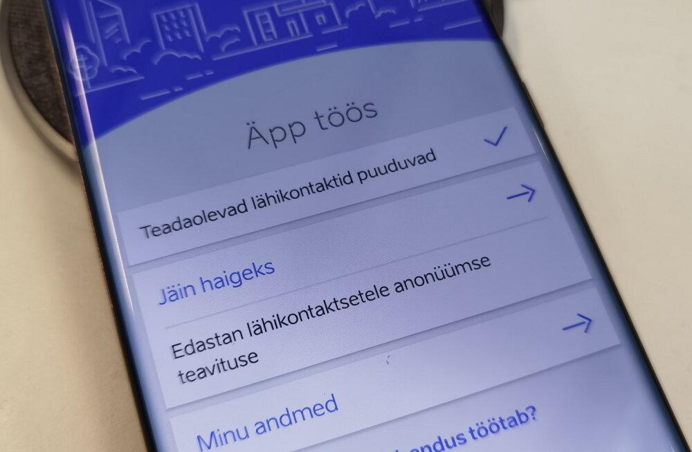 Eesti koroonaäpp maksis 30 000 eurot<o:p></o:p>