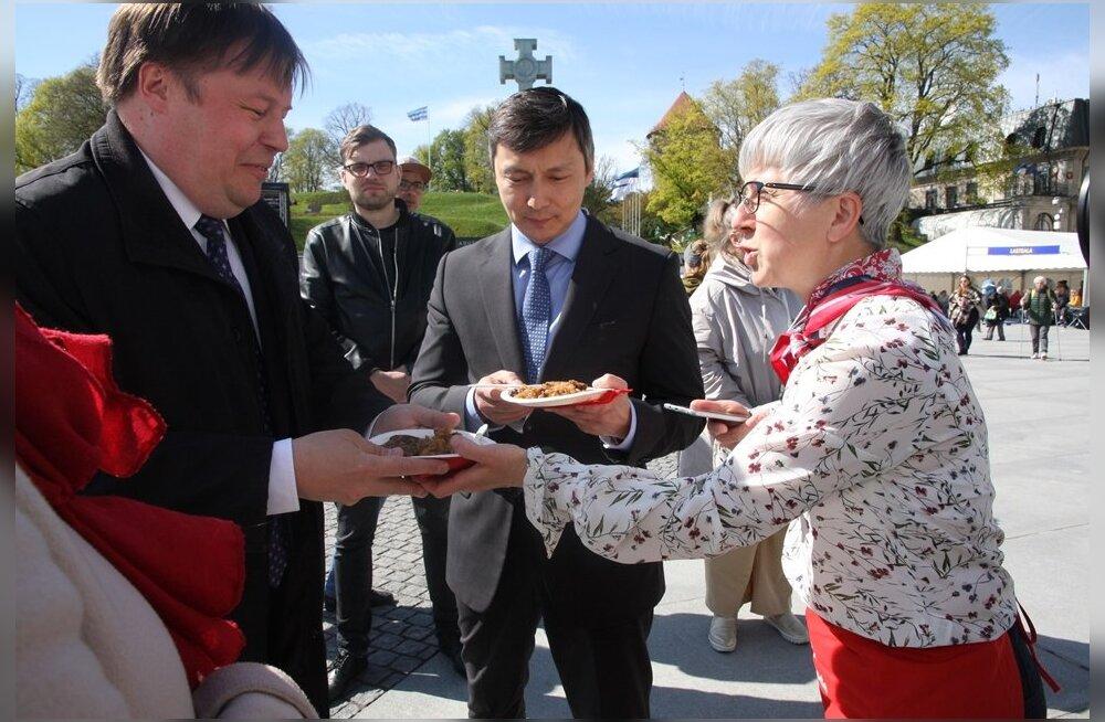 ФОТО: В Таллинне отмечают День Европы