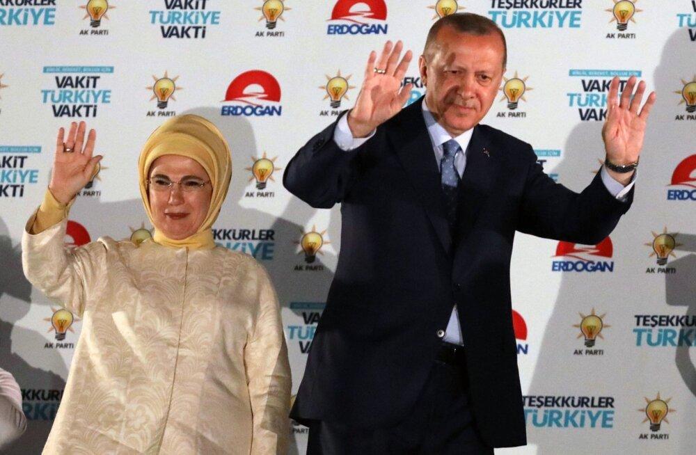 Tayyip Erdogan ja Emine Erdogan