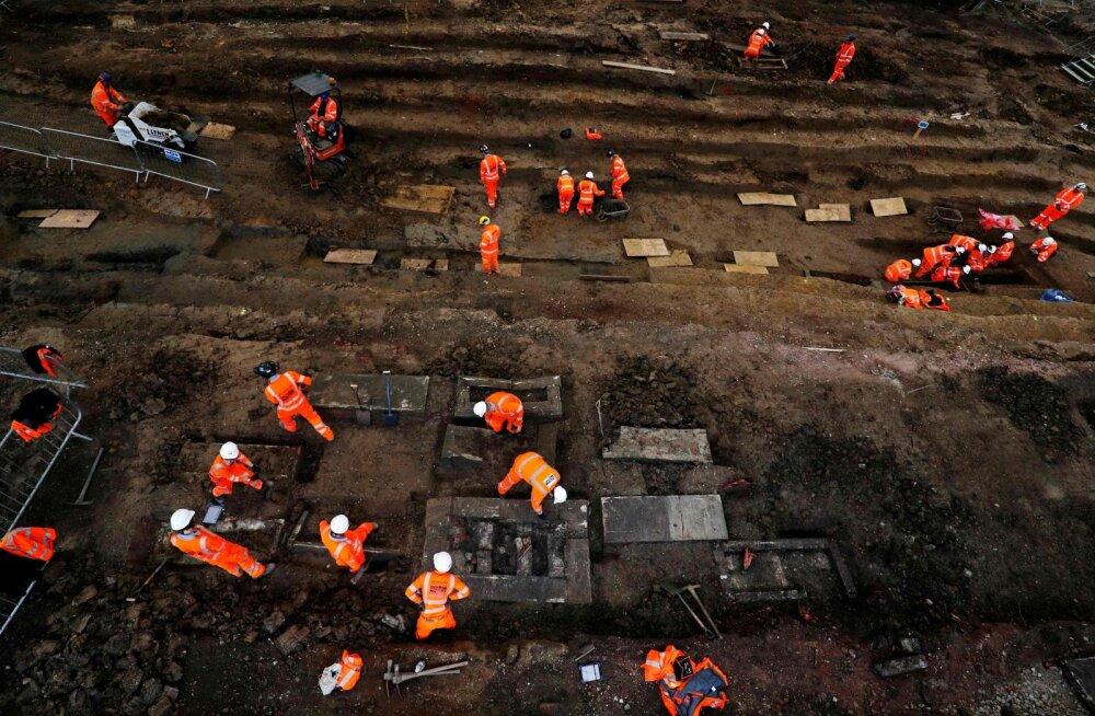 Kiirrongiliini ehitus toob kaasa Ühendkuningriigi ajaloo suurimad arheoloogilised väljakaevamised