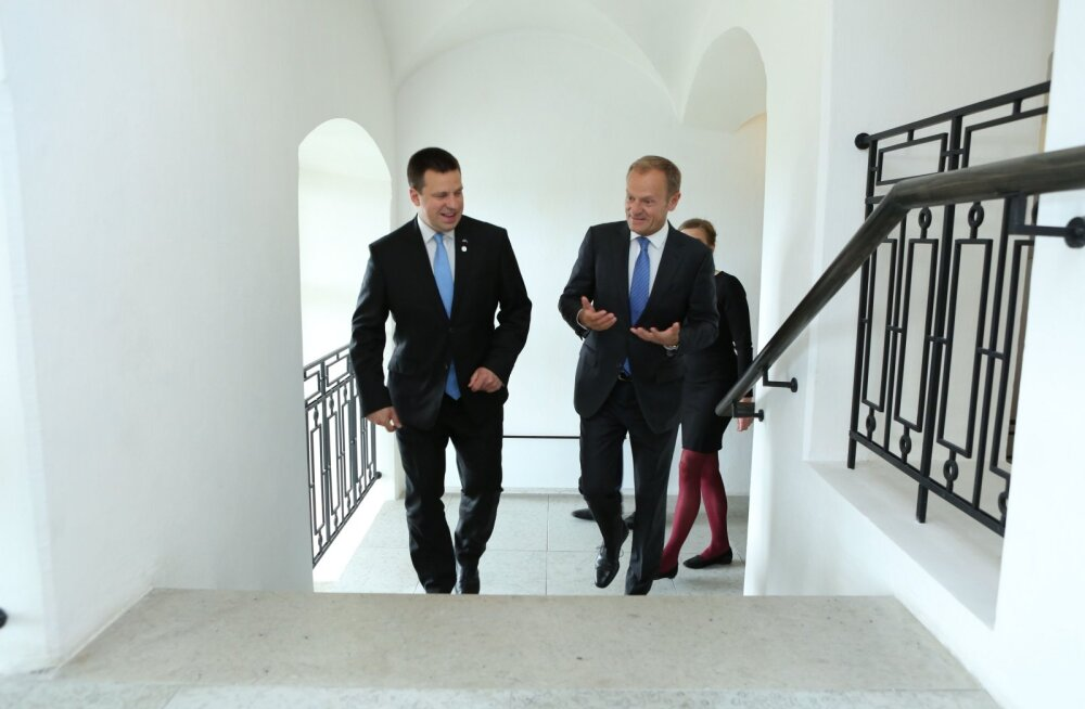 Ратас обсудил с председателем Европейского совета Туском планы на полгода