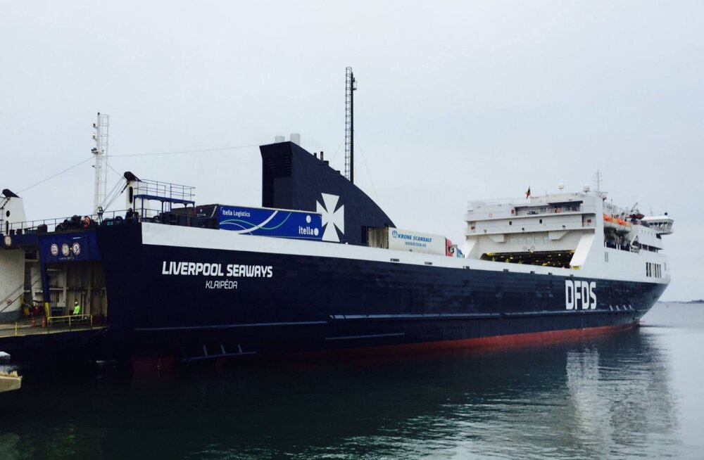 Vööripõtkuri rike põhjustas Paldiski-Kapellskäri laeva hilinemise
