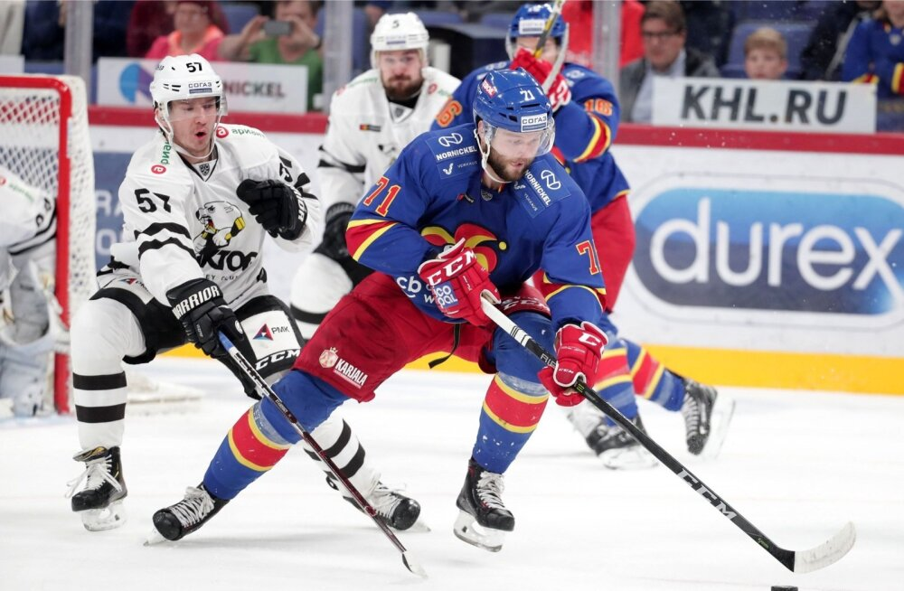 KHL-i kohtumine Helsingi Jokerit - Tšeljabinski Traktor
