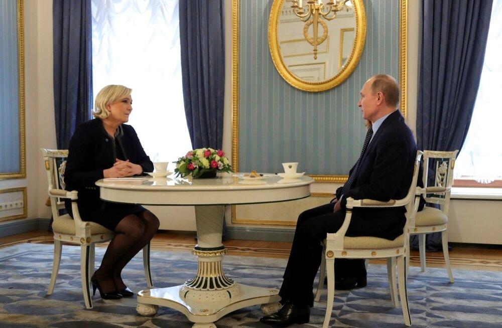 Marine Le Penile Vene laenu organiseerimisel tegutseb väidetavalt vahendajana lätlane