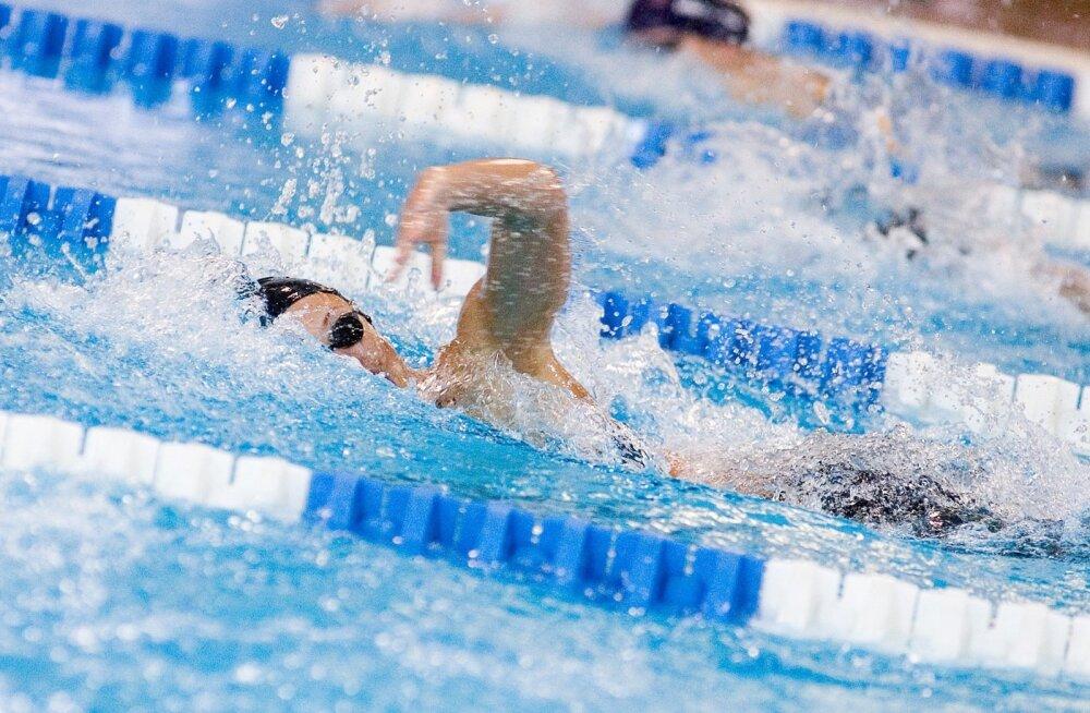 Kalevi segateatevõistkond püstitas Eesti juunioride rekordi 4 x 50 m vabaltujumises