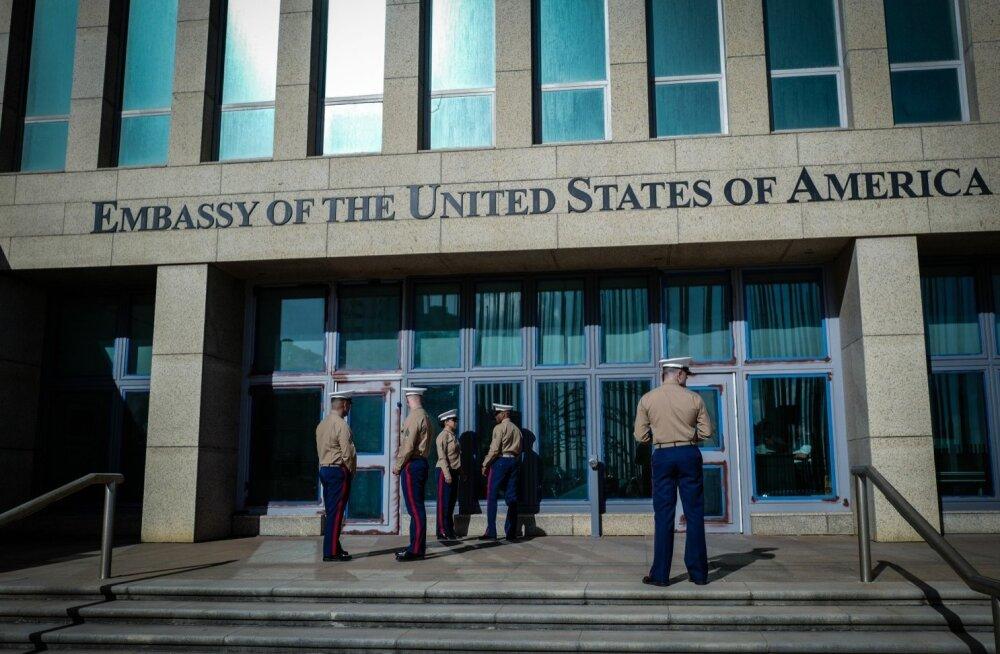 USA saatkonnahoone Kuuba pealinnas Havannas, kus diplomaadid seletamatul põhjusel haigestuma hakkasid.