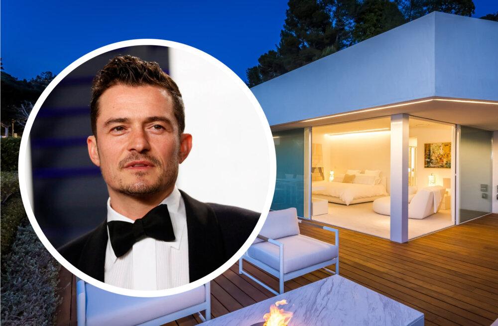 FOTOD | Katyle ei sobi? Orlando Bloom müüb oma avarat villat Beverly Hillsis