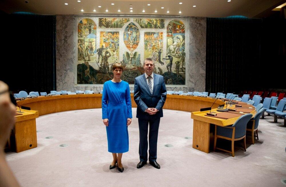 FOTOD   Vaidlus ÜRO võimutempli sümboli üle: maailma kõige halvem seinamaal või geniaalne kunstiteos?