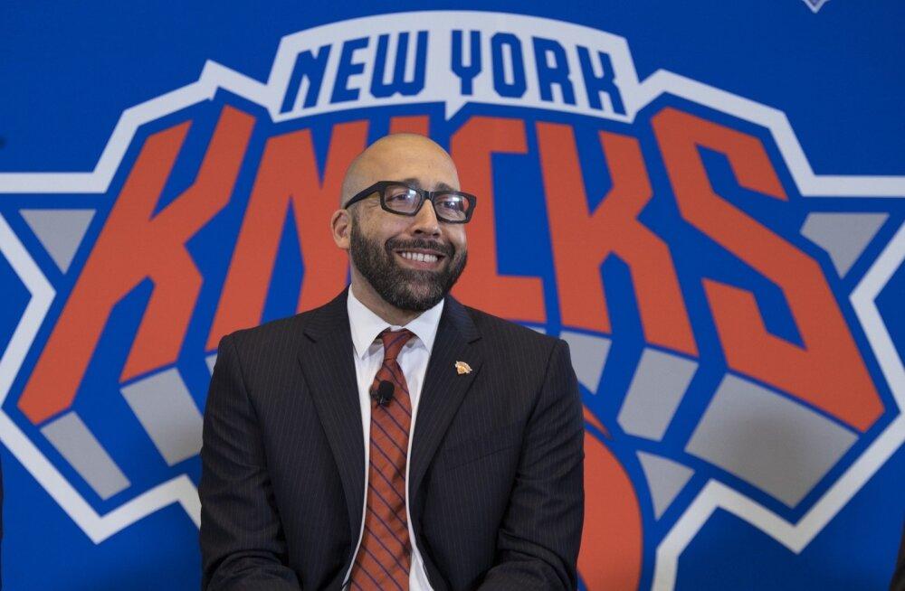 New York Knicksi peatreener David Fizdale