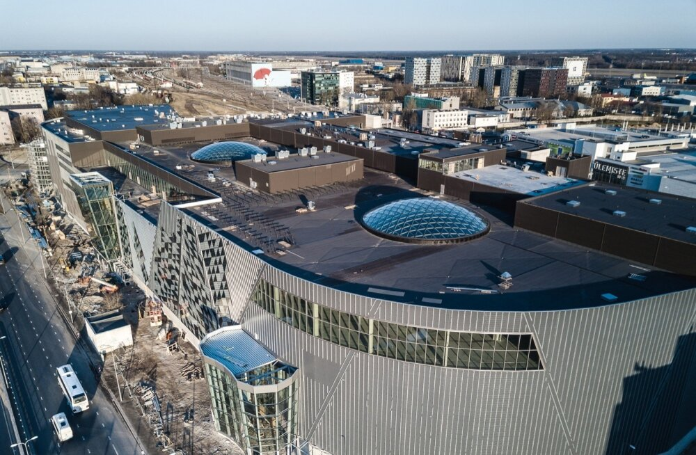 Uue kaubakeskuse T1 Mall of Tallinn avapidu toimub 8. novembril