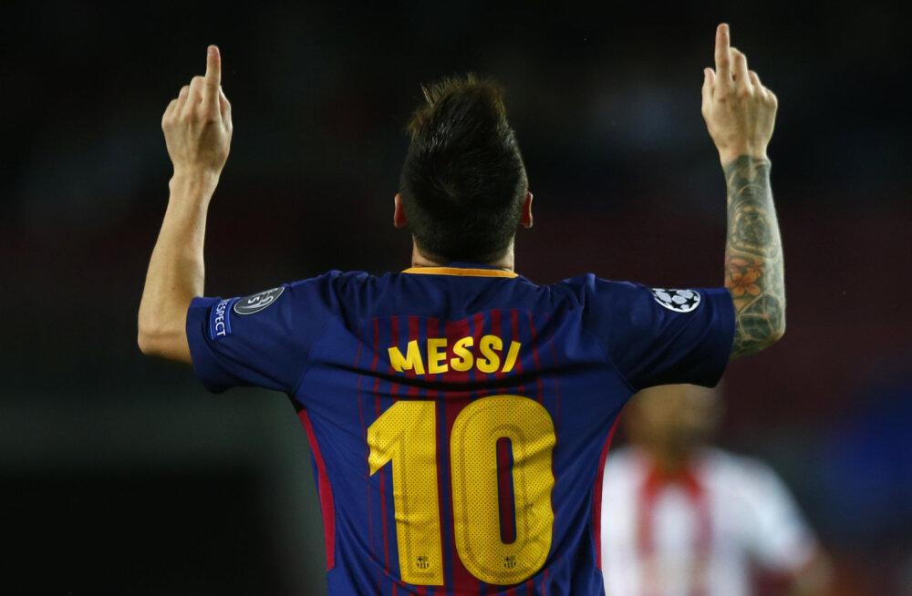 VIDEO   Meistrite liiga tipphetked: Messi ja Neymar lõid karistuslöögist ilusad väravad